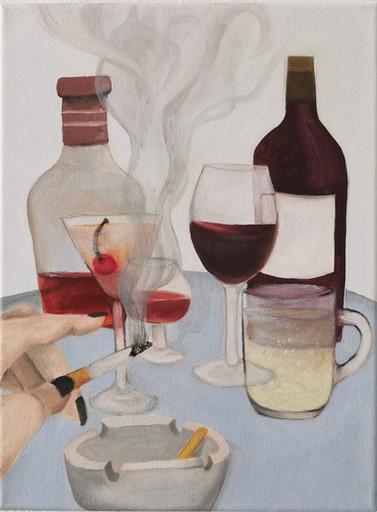 Bissl Scotch, bissl Bordeaux, bissl Manhattan, eine spritzige Mischung