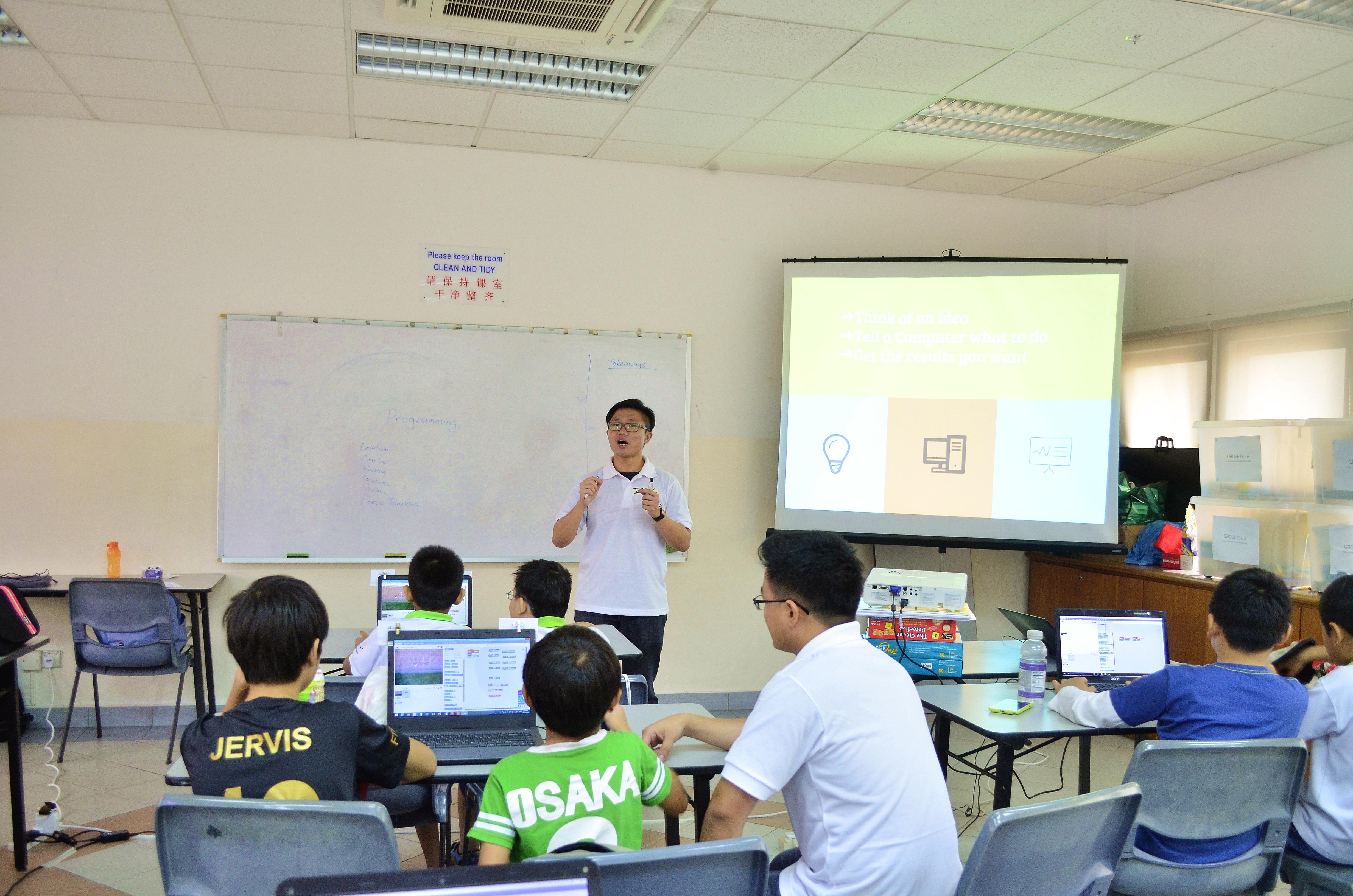 isaac teaching 2