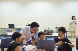 Fusen with kids
