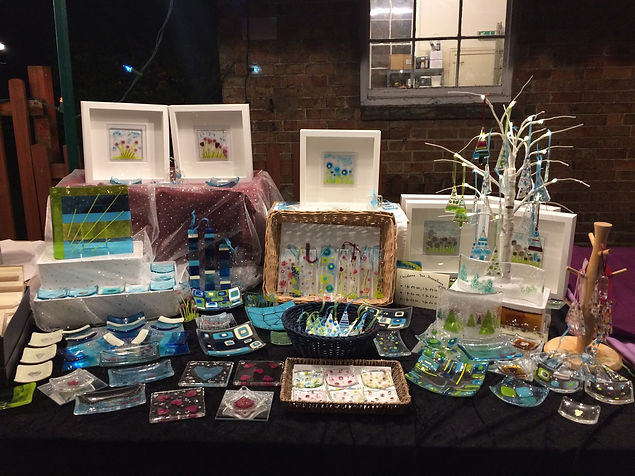 Little Orchard Glass - Stall at Kineton Victorian Evening