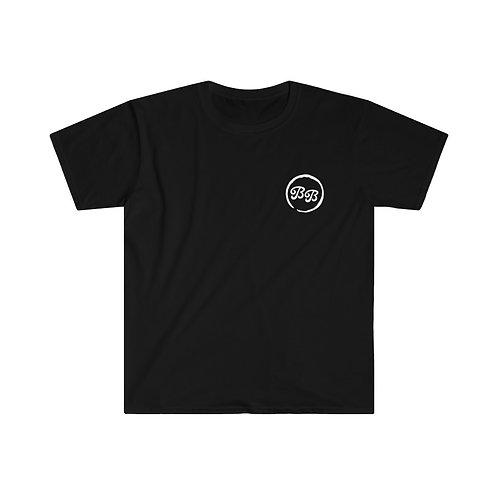 'Cold Room' on Back Unisex Black T-Shirt