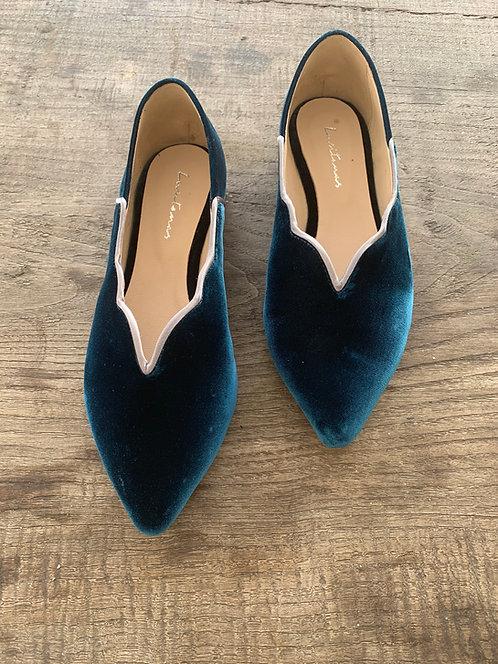 OLÍVIA blue velvet