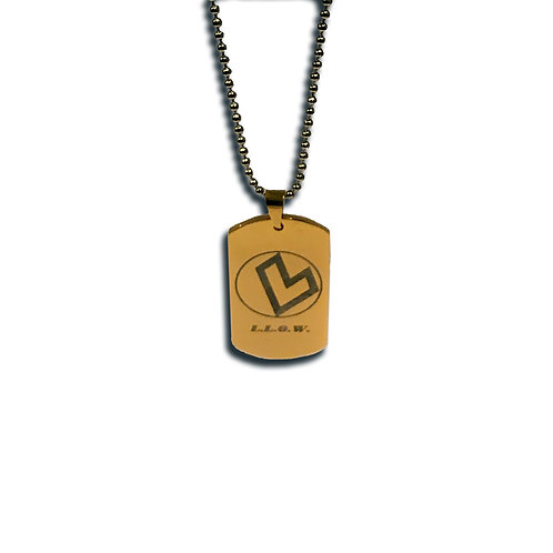 LLOW Entertainment Stainless Steel Dog Tags