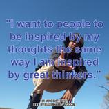Jon Harris Quote : Quote on Inspiring People