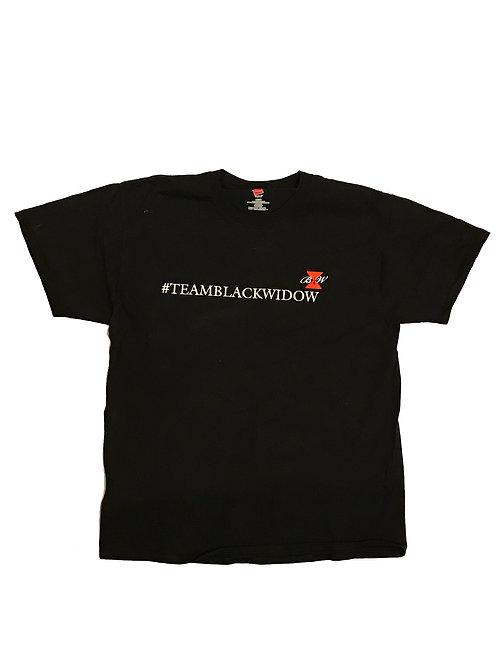 LLOW Throw Back #TEAMBLACKWIDOW T-Shirt