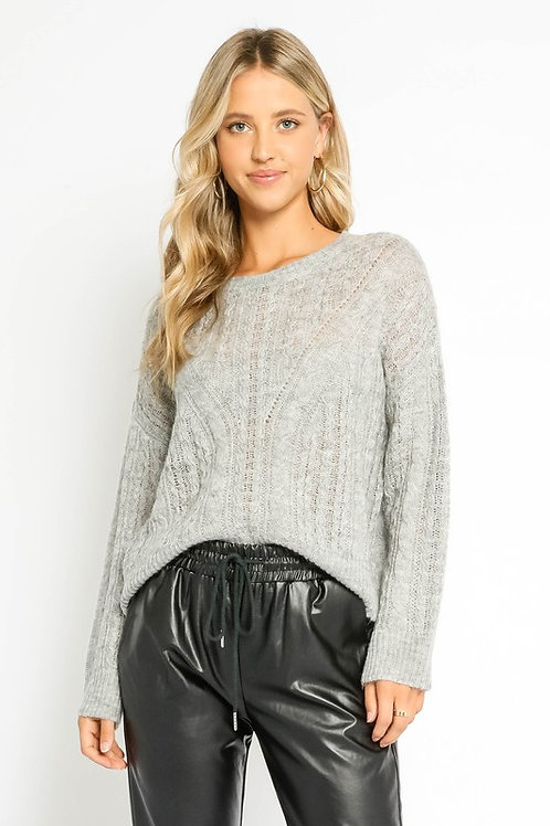 Cozy Knit Sweater by Olivaceous