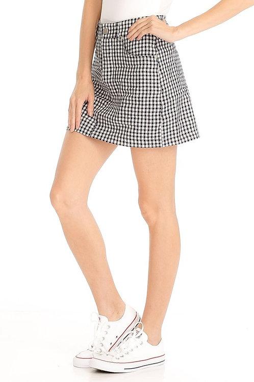 Checker Skirt
