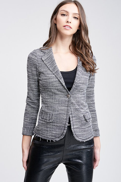 Tweed Blazer by Venti 6