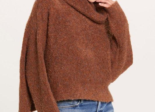 Boucle Turtleneck Sweater