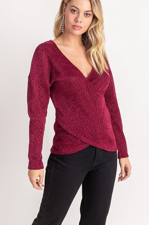 Chenille Cross Front by Lush