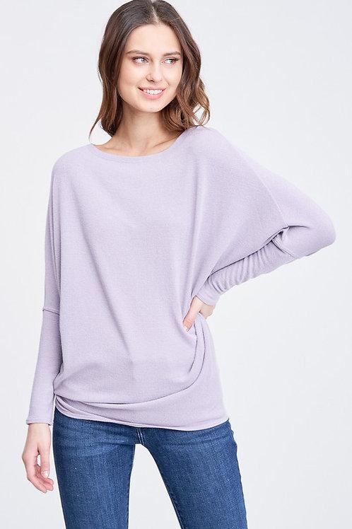 Off the Shoulder Lavender