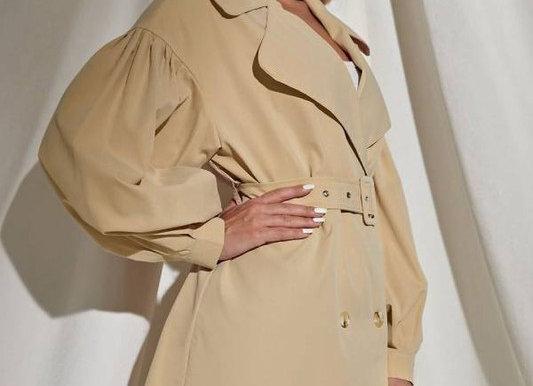Long Sleeve Trench Coat