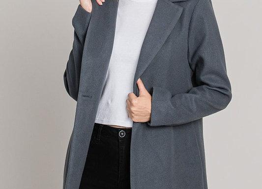 Waist Tapered Overcoat