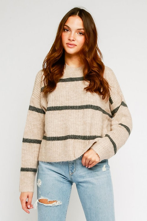 Throwover Sweater by Olivaceous