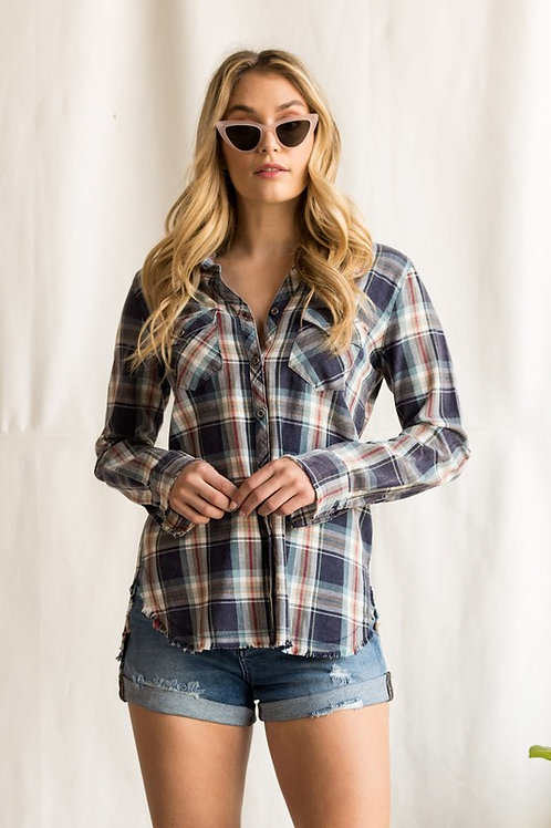 Double Breast Plaid