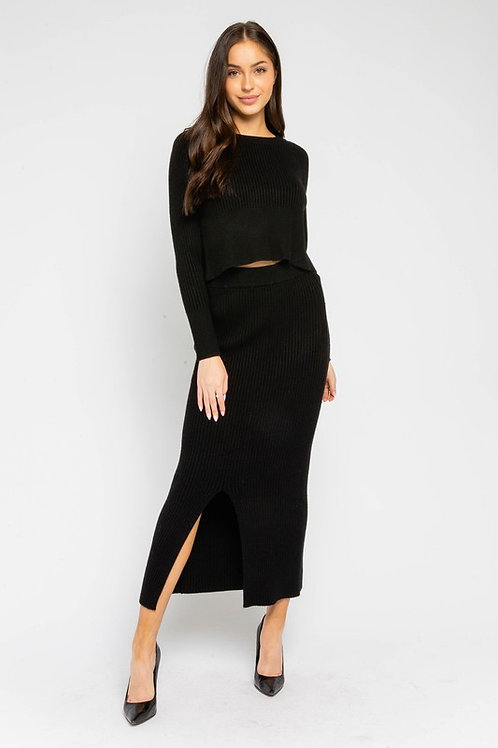 Midi Skirt by Olivaceous