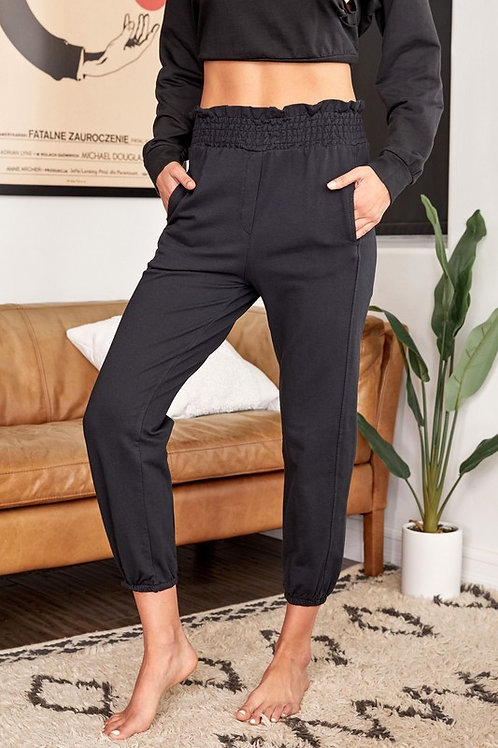 Solid Jogger with Pockets by Venti 6