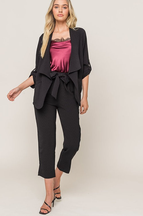 Belt Tie Trousers by Lush