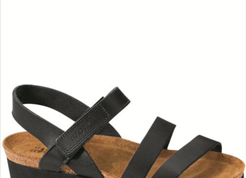 Kayla Black Matte Leather