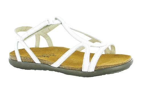 Dorith White Leather