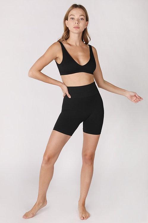 Jersey Highwaist Shorts by NikiBiki