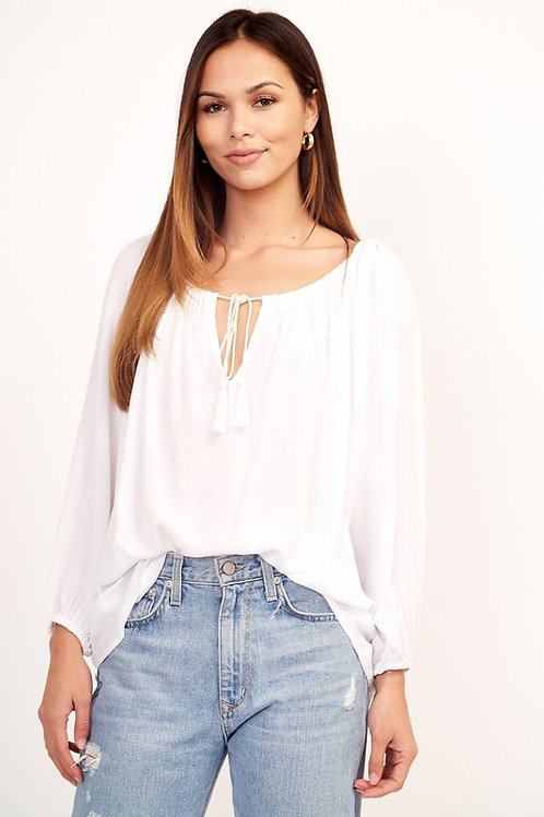 Tassel Blouse by Olivaceous