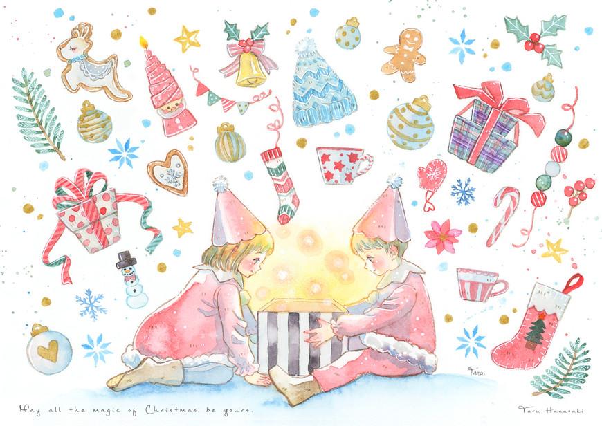 クリスマスカード2020