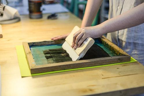 Screen Printing on Tote Bag - Cahaya Ramadan Special