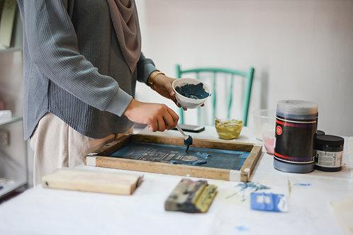 Intro to Screen Printing on Textile