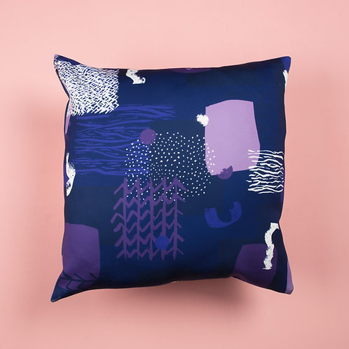 Willow by the River Bank Cushion Cover