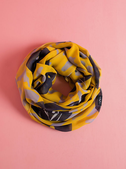 Yellow Willow Scarf