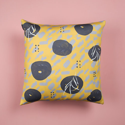 Yellow Willow Cushion Cover