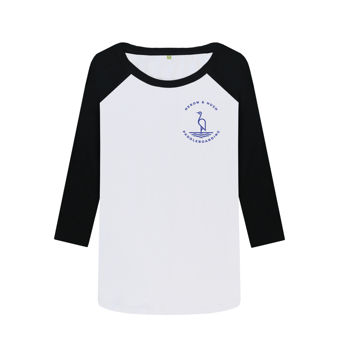 H&H Paddleboarding Ladies Baseball Tee S