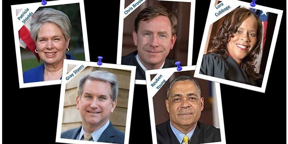 September General Meeting: Meet The Judges