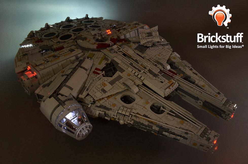 Top Front View, LEGO UCS Millennium Falcon