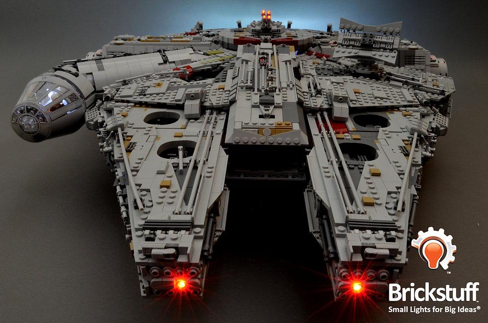Front View, LEGO UCS Millennium Falcon