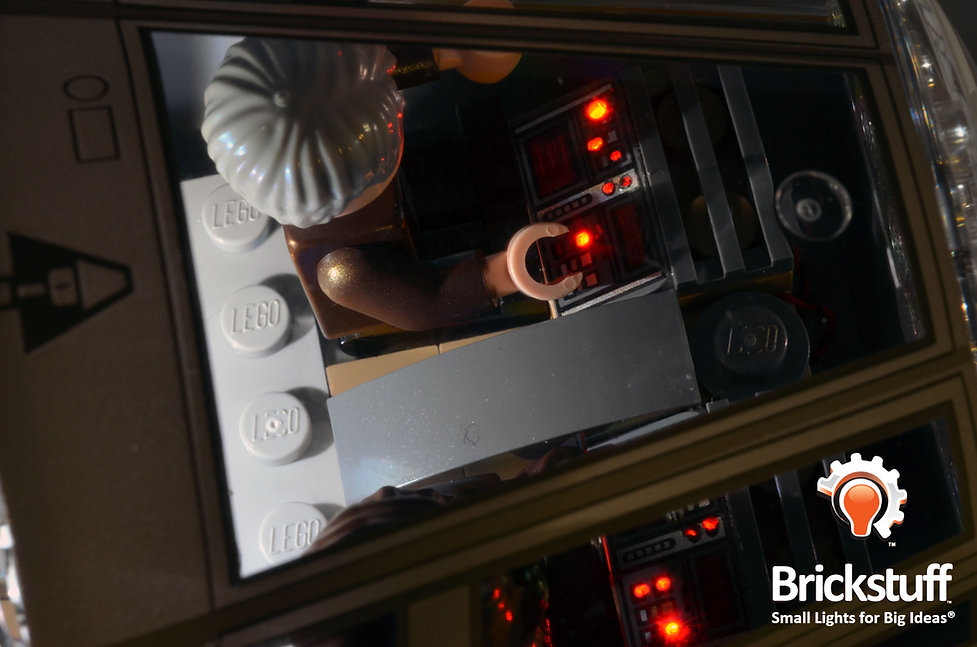 Top Cockpit View, LEGO UCS Millennium Falcon
