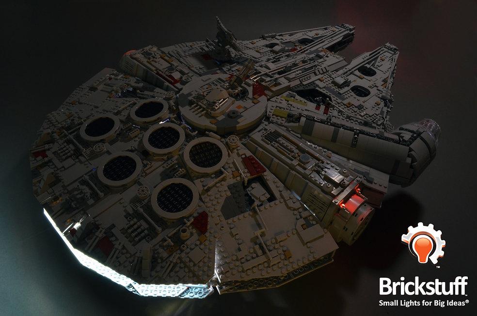 Top Rear View, LEGO UCS Millennium Falcon