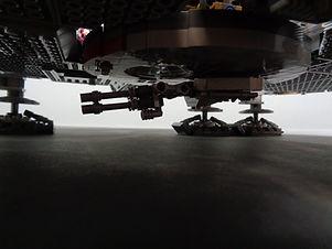 Bottom laser cannon on the LEGO UCS Millennium Falcon.
