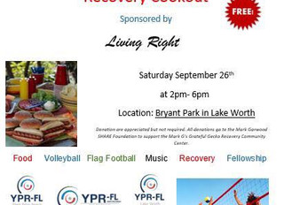 Living Right Recovery Cookout