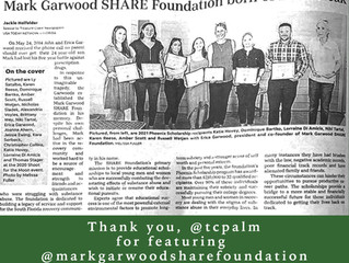 Mark Garwood SHARE Foundation featured in TCPALM Luminaries