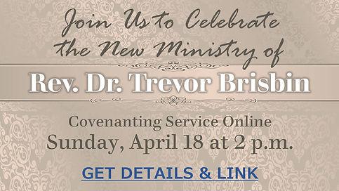 2021 04 18 Trevor Covenanting Service wi