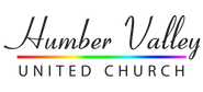 HVUC Coronet black rainbow line logo.png