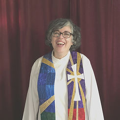 Rev Lena in robes.jpg