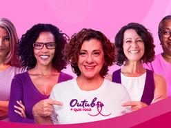 Fundação do Câncer faz campanha pela saúde da mulher no Outubro Rosa
