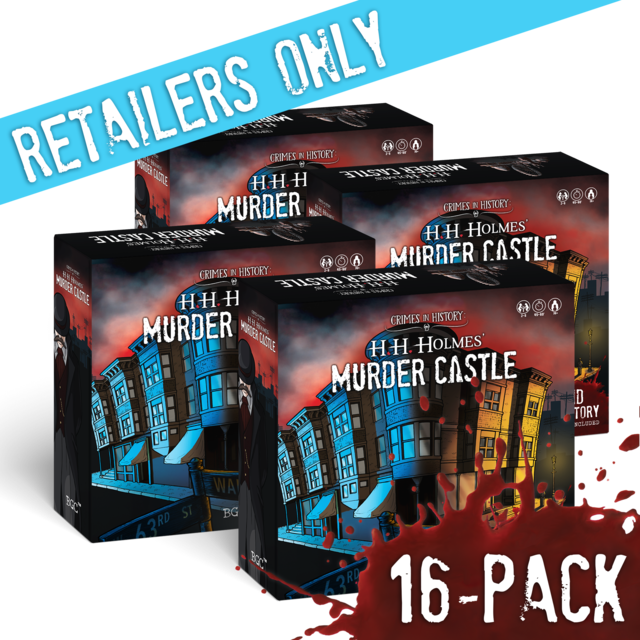 16-Pack: Murder Castle w/ 2nd Story Expansion