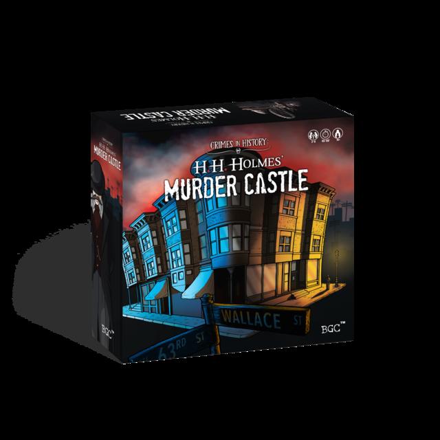 Murder Castle Board Game