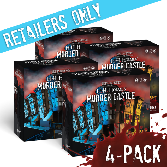 4-Pack: Murder Castle w/ 2nd Story Expansion