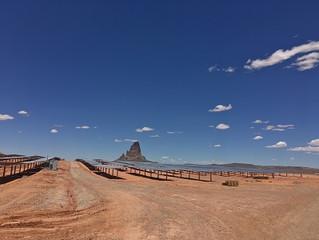 Navajo solar project sending power to the grid in Kayenta, Ariz.
