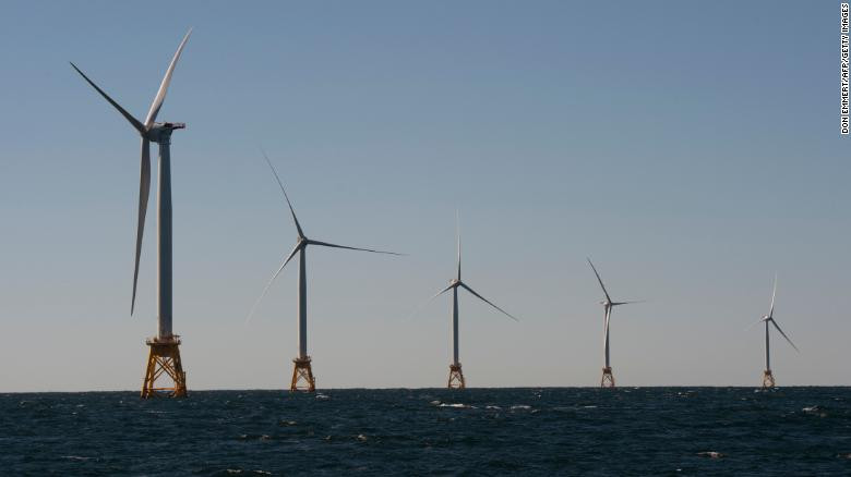 Washington (CNN)The rights to establish wind farms off the Massachusetts coast sold for a record-setting $405 million total on Friday, according to federal officials.